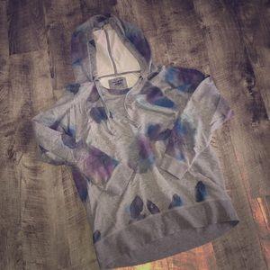 DKNY Inkblot Sweatshirt Hoodie